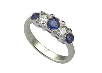 gemstone-saphire-ring